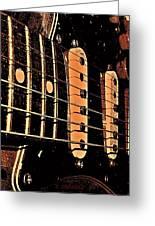 Fender In Brown Greeting Card