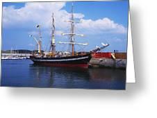 Fenit, Co Kerry, Ireland Famine Ship Greeting Card