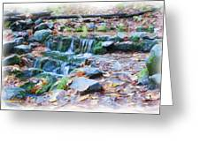 Fern Spring In Autumn Greeting Card