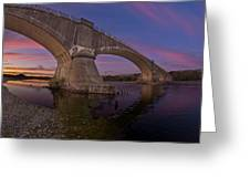 Fernbridge Dusk Greeting Card