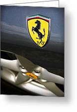 Ferrari 360 Spider F1 Greeting Card