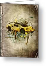 Ferrari Dino 246 Gts Greeting Card