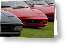 Ferraris 4 Greeting Card