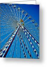 Ferris Wheel - Nuremberg  Greeting Card by Juergen Weiss