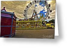Ferris Wheel - Vienna Greeting Card