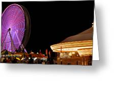 Ferris Wheel 3 Greeting Card