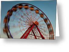 Ferris Wheel Iv Greeting Card