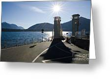Ferry Harbour Greeting Card