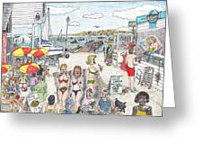 Ferry Naughtycal Greeting Card