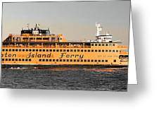 Ferry Time Greeting Card