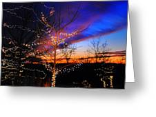 Festive Lights Greeting Card