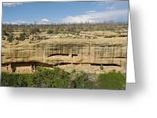 Fewkes Canyon Cliff Dwelling Greeting Card