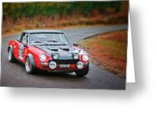 Fiat Abarth Greeting Card