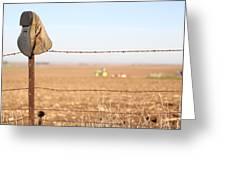 Field Work Greeting Card