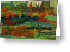 Fields Two Greeting Card