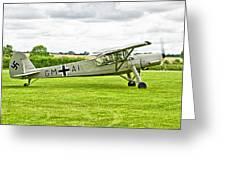 Fieseler Fi 156 Storch Greeting Card