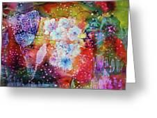 Fiesta Painting  Greeting Card