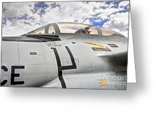 Fighter Jet Cockpit Greeting Card