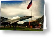 Fighter Jet Panama City Fl Greeting Card
