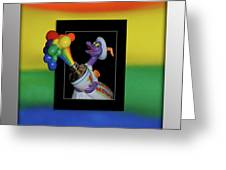 Figments Rainbow Of Colors Greeting Card