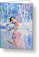 Figure Skater 14 Greeting Card