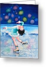 Figure Skater 16 Greeting Card