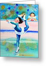Figure Skater 19 Greeting Card