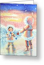 Figure Skater 8 Greeting Card