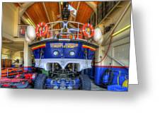 Filey Lifeboat Greeting Card