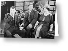 Film: All Aboard, 1927 Greeting Card