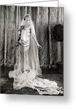 Film: Fair Lady, 1922 Greeting Card