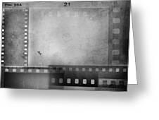 Film Negatives  Greeting Card