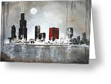 Film Noir Chicago Greeting Card