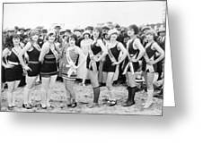 Film Still: Beauty Pageant Greeting Card