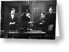 Film Still: Men Group Greeting Card