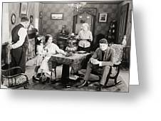 Film Still: Poorhouse Greeting Card