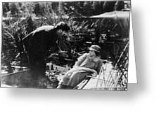 Film: Sunrise, 1927 Greeting Card by Granger