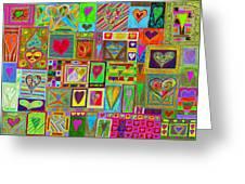 find U'r Love found    v15 Greeting Card