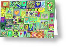 find U'r Love found    v18 Greeting Card