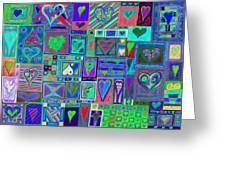 find U'r Love found    v13 Greeting Card