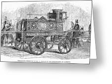 Fire Engine, 1862 Greeting Card