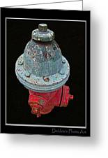 Fire Hydrant IIi Greeting Card