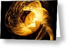 Fire Juggling 02 Greeting Card