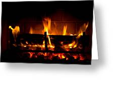 Fire Visions Greeting Card