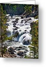 Firehole River IIi Greeting Card