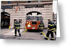 Firehouse Color 16 Greeting Card