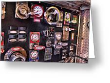 Fireman - Discharge Panel Greeting Card