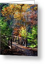 Fire's Creek Bridge Greeting Card