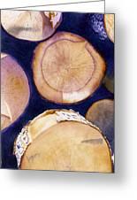 Firewood Greeting Card