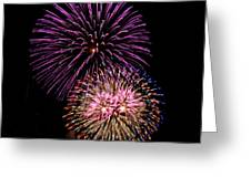 Firework Eyes Greeting Card